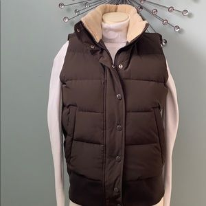 EUC BR Down Filled Puffer Vest
